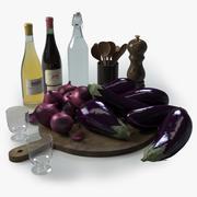 Accesorios de cocina 1 modelo 3d