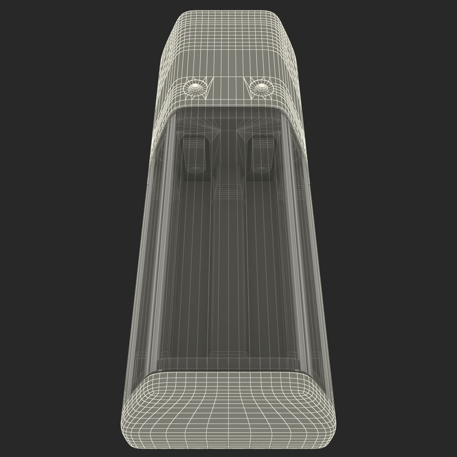 AAA Batteries Charger royalty-free 3d model - Preview no. 14