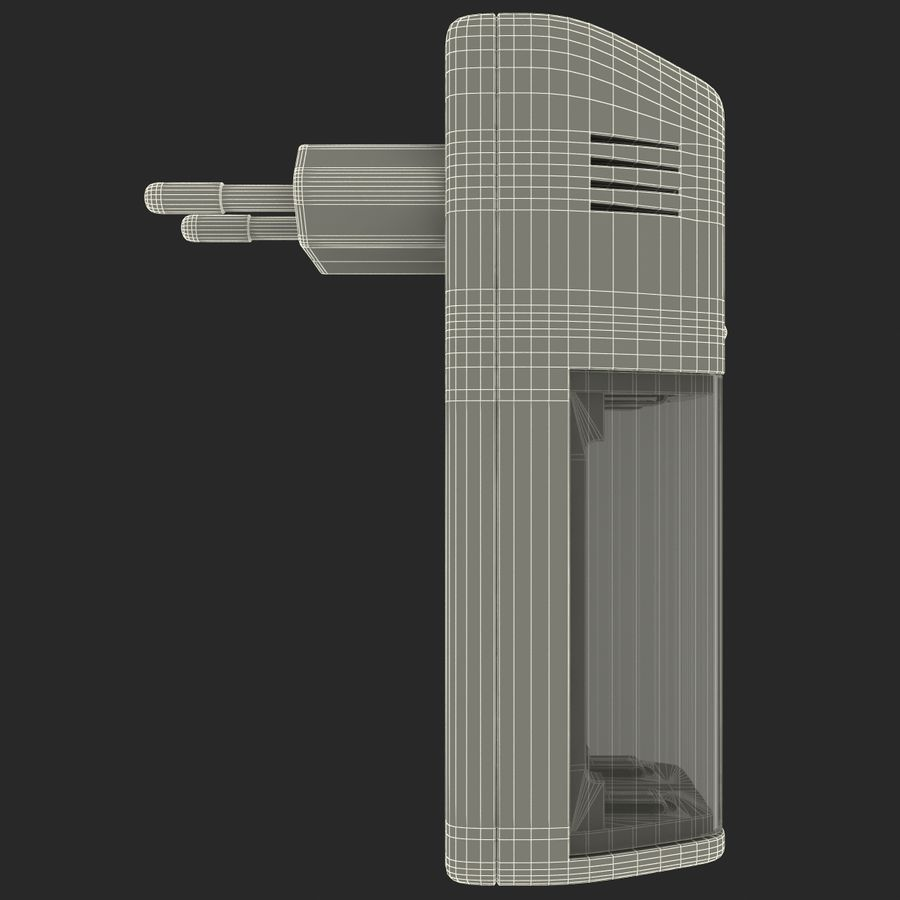 AAA Batteries Charger royalty-free 3d model - Preview no. 16