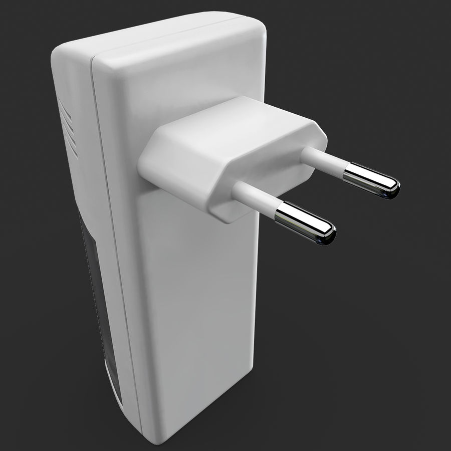 AAA Batteries Charger royalty-free 3d model - Preview no. 9