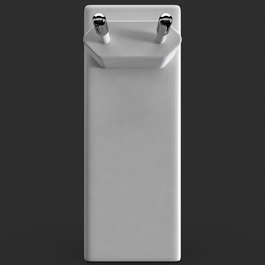 AAA Batteries Charger royalty-free 3d model - Preview no. 7