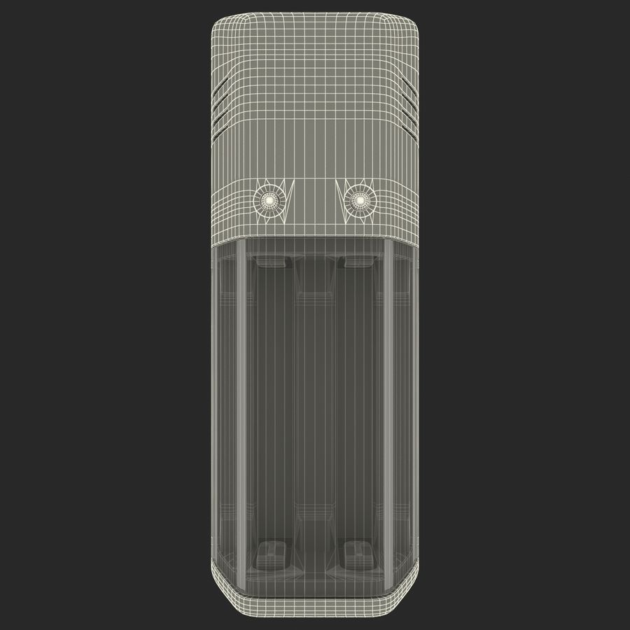 AAA Batteries Charger royalty-free 3d model - Preview no. 15