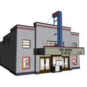 Кино 3d model