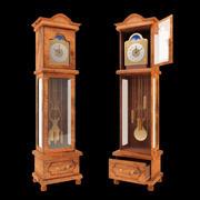 Old Floor Clock 3d model