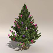 Drzewko świąteczne 3d model