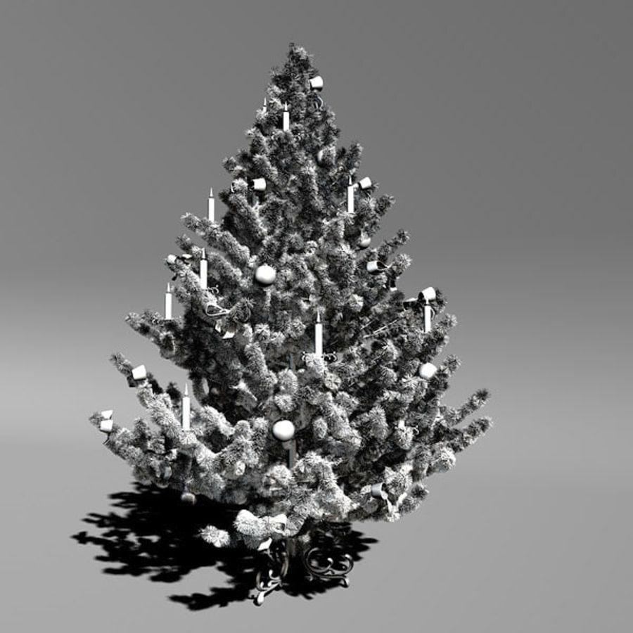 圣诞树 royalty-free 3d model - Preview no. 2