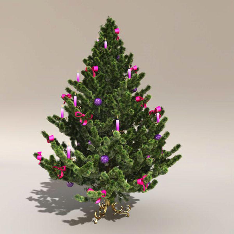 圣诞树 royalty-free 3d model - Preview no. 1