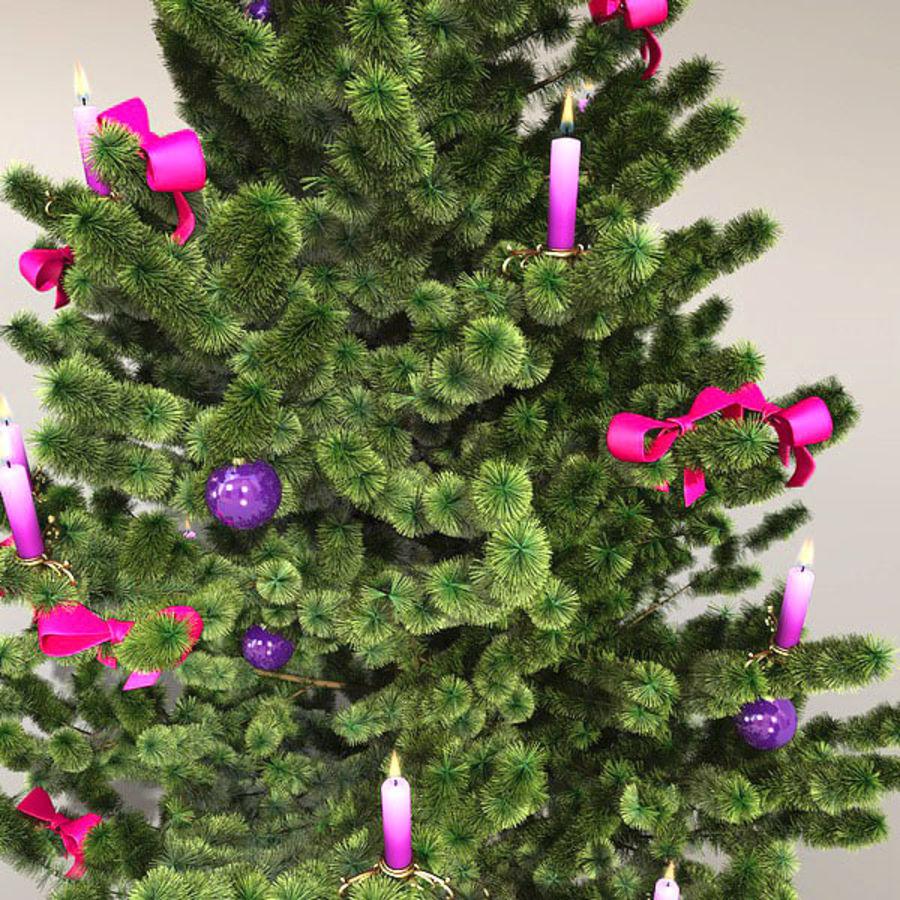 圣诞树 royalty-free 3d model - Preview no. 4