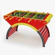 Fussball table10 3d model