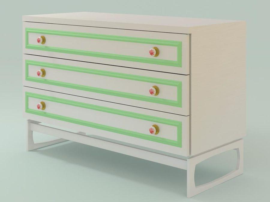 Collection de meubles royalty-free 3d model - Preview no. 6