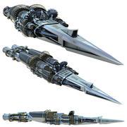 Скорость корабля 3d model