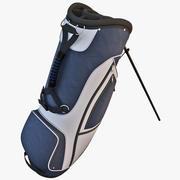 Sac de golf 3 3d model