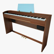 Piano Casio 3d model