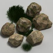 Rocks 03 3d model
