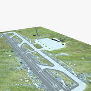 Petit aéroport 3d model