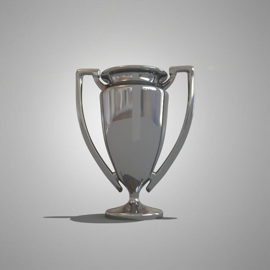 Soccer Cup royalty-free 3d model - Preview no. 5