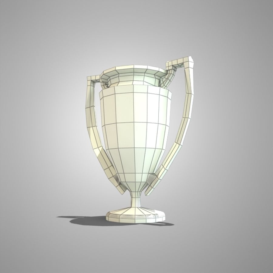 Soccer Cup royalty-free 3d model - Preview no. 3