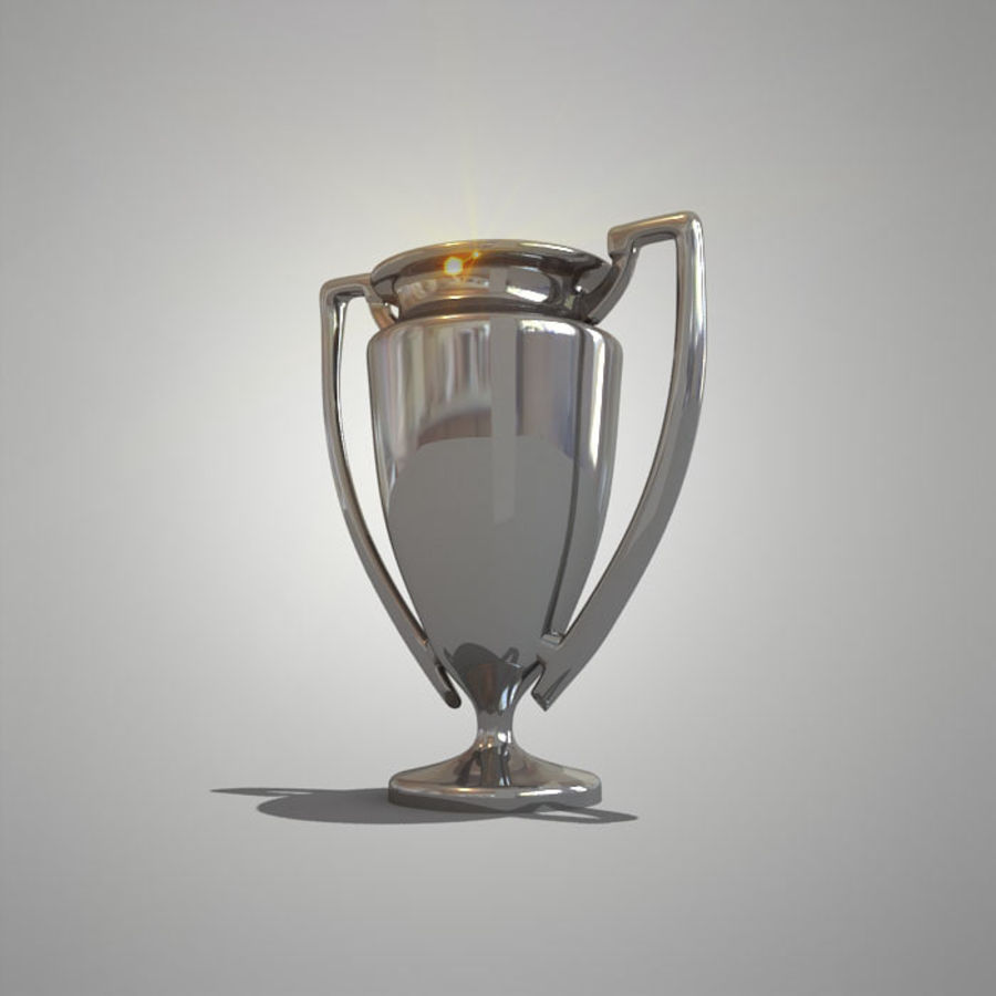 Soccer Cup royalty-free 3d model - Preview no. 9