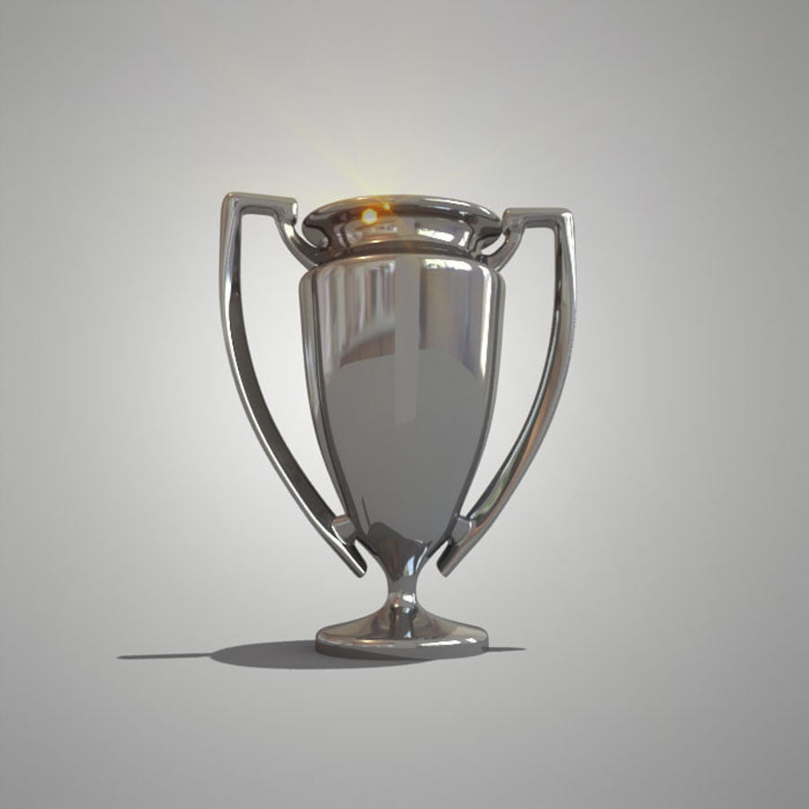 Soccer Cup royalty-free 3d model - Preview no. 8