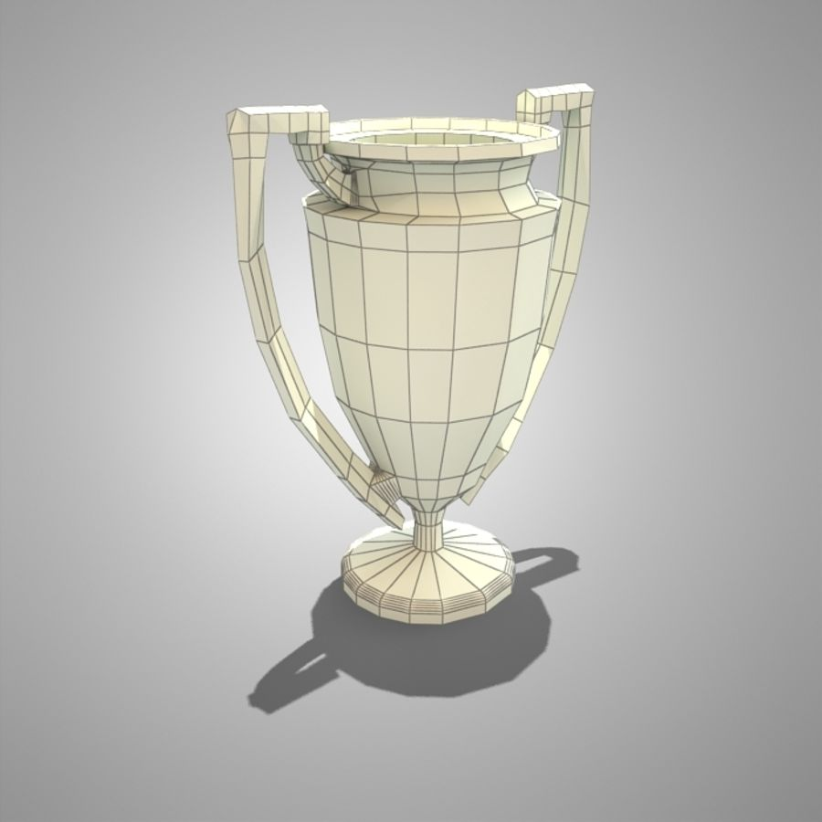 Soccer Cup royalty-free 3d model - Preview no. 4
