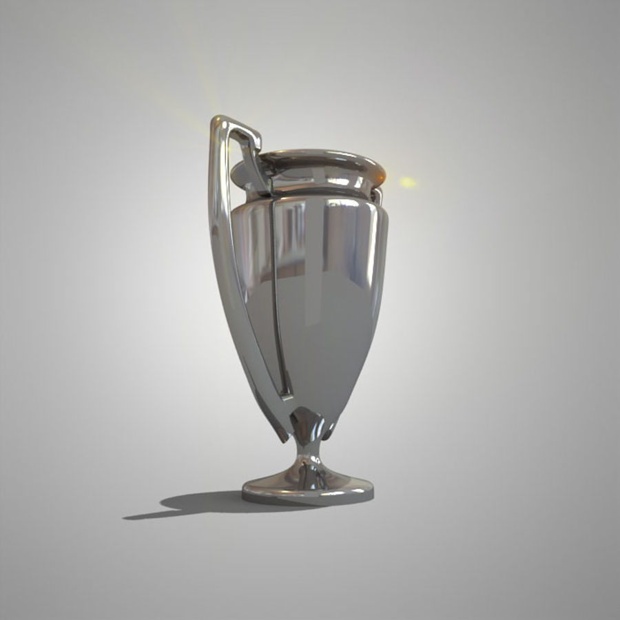 Soccer Cup royalty-free 3d model - Preview no. 6