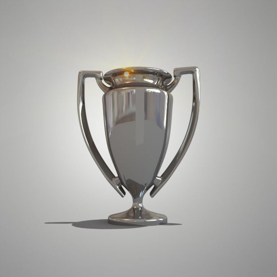 Soccer Cup royalty-free 3d model - Preview no. 7