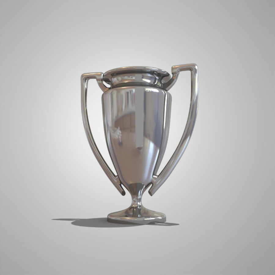 Soccer Cup royalty-free 3d model - Preview no. 2