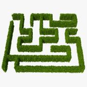 Carpinus Betulus Hedge Kit 3d model