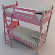 二段ベッド2 3d model