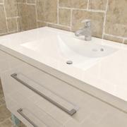 Pia no banheiro 3d model