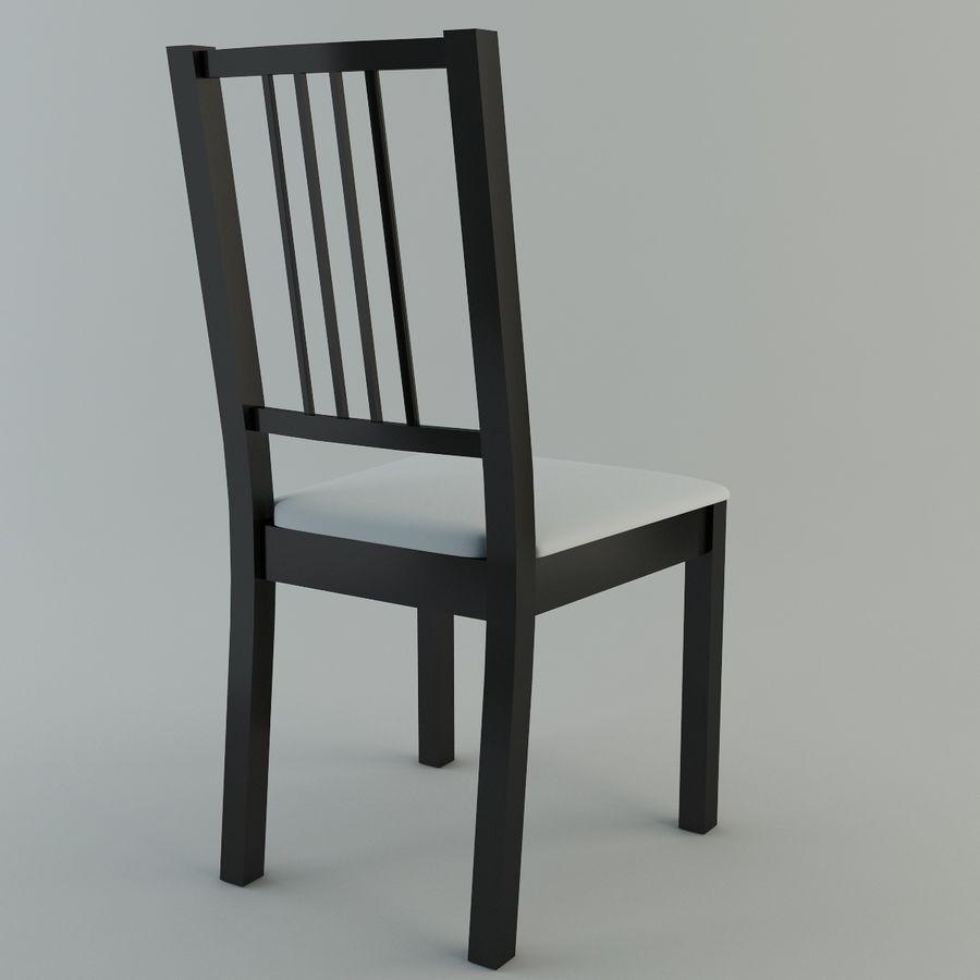 Proste krzesło royalty-free 3d model - Preview no. 2