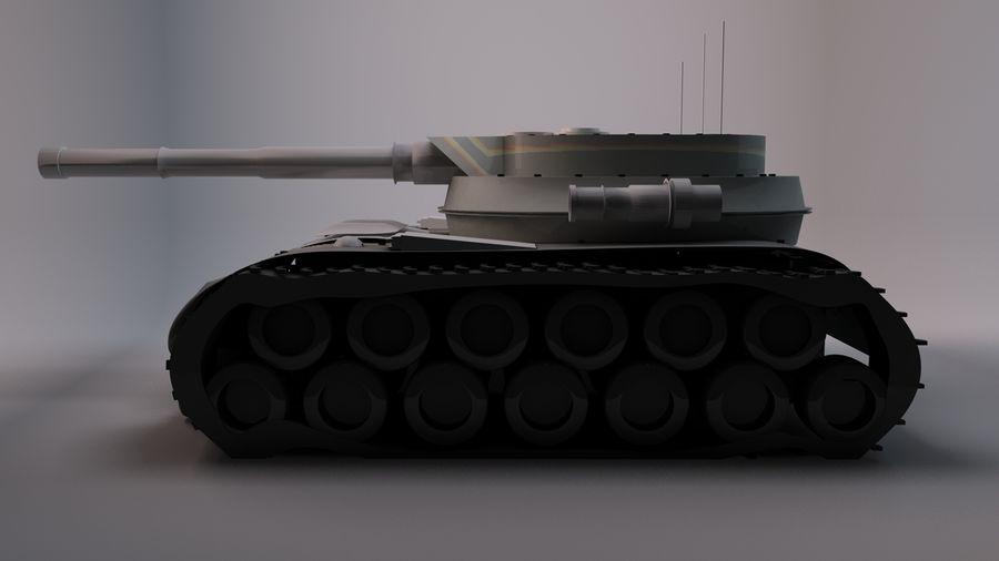 Czołg o dużej mocy royalty-free 3d model - Preview no. 2