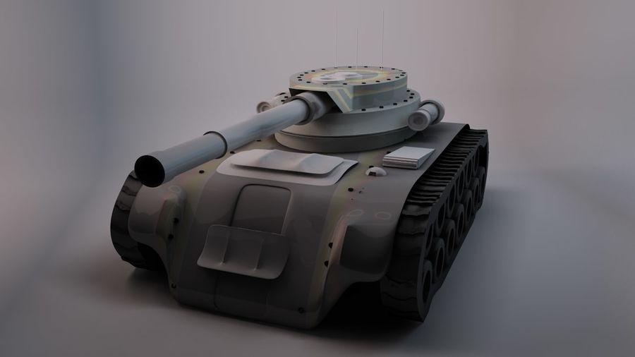 Czołg o dużej mocy royalty-free 3d model - Preview no. 1