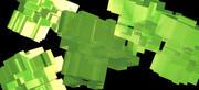 Konstnärlig kub. 3d model