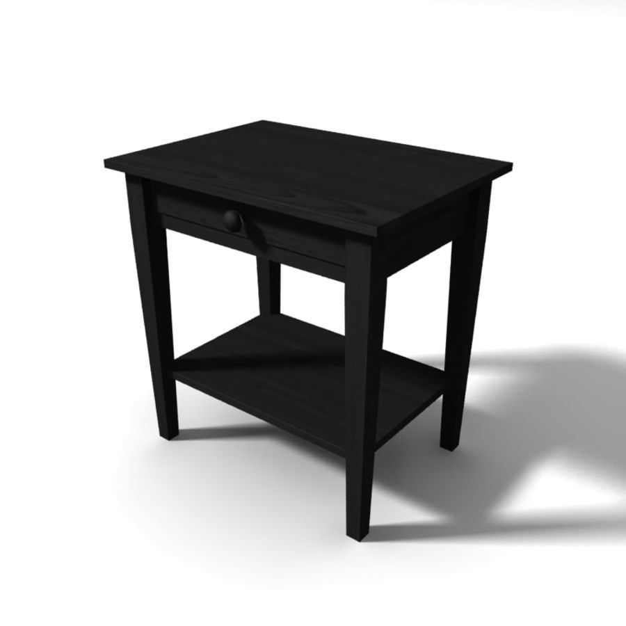 table de chevet royalty-free 3d model - Preview no. 1