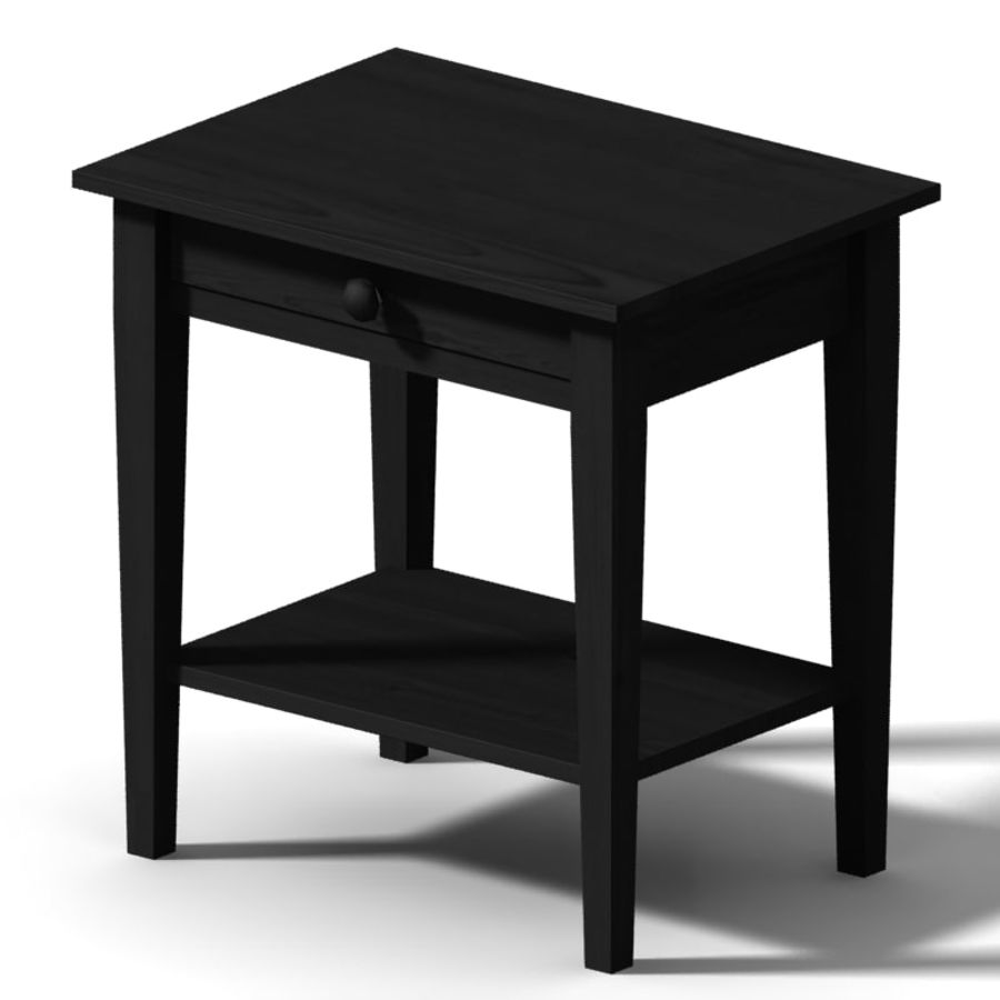 table de chevet royalty-free 3d model - Preview no. 4