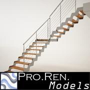İç mimari merdivenleri 002 3d model
