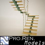 İç mimari merdivenleri 006 3d model