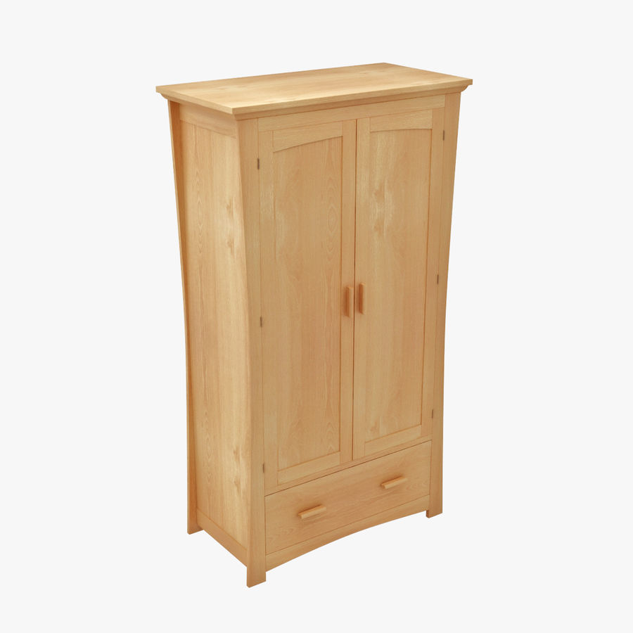 Childs Room Cupboard royalty-free 3d model - Preview no. 1