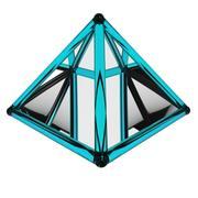 Pyramid spinning preloader 3d model