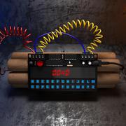 Bomba a tempo 3d model