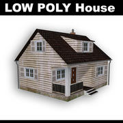 House - low poly 3d model