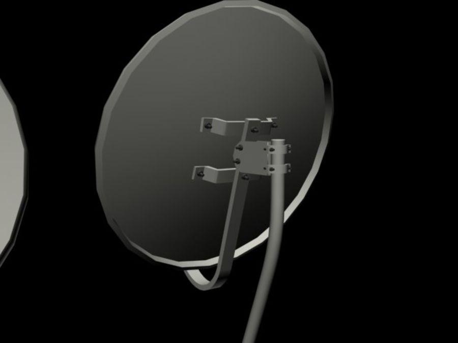 Satellite Dish royalty-free 3d model - Preview no. 2