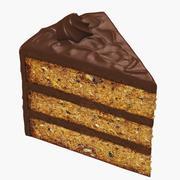 Pasta Dilimi - Ceviz 3d model