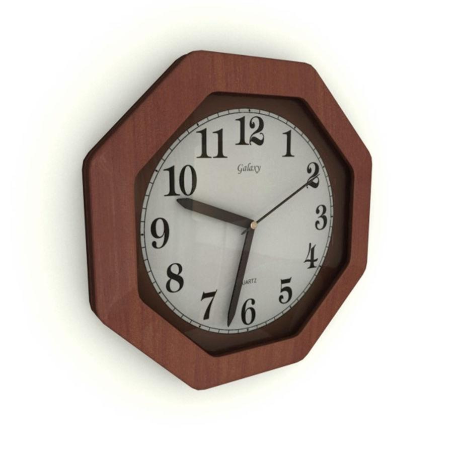 Reloj de pared royalty-free modelo 3d - Preview no. 3