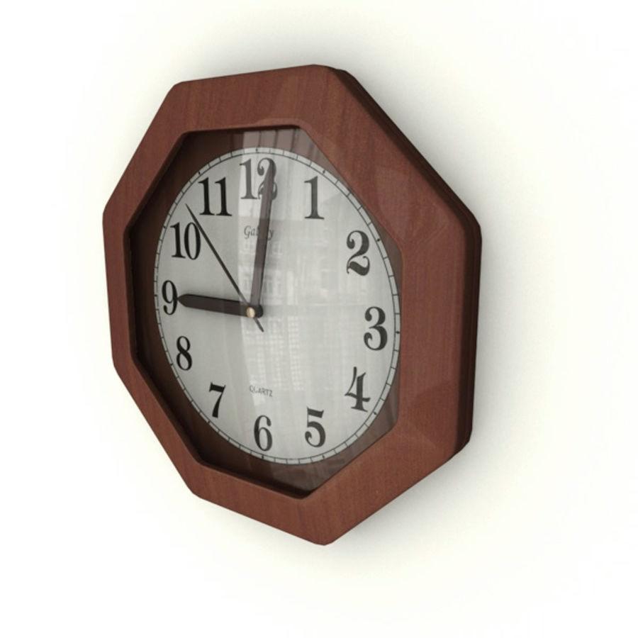 Reloj de pared royalty-free modelo 3d - Preview no. 2
