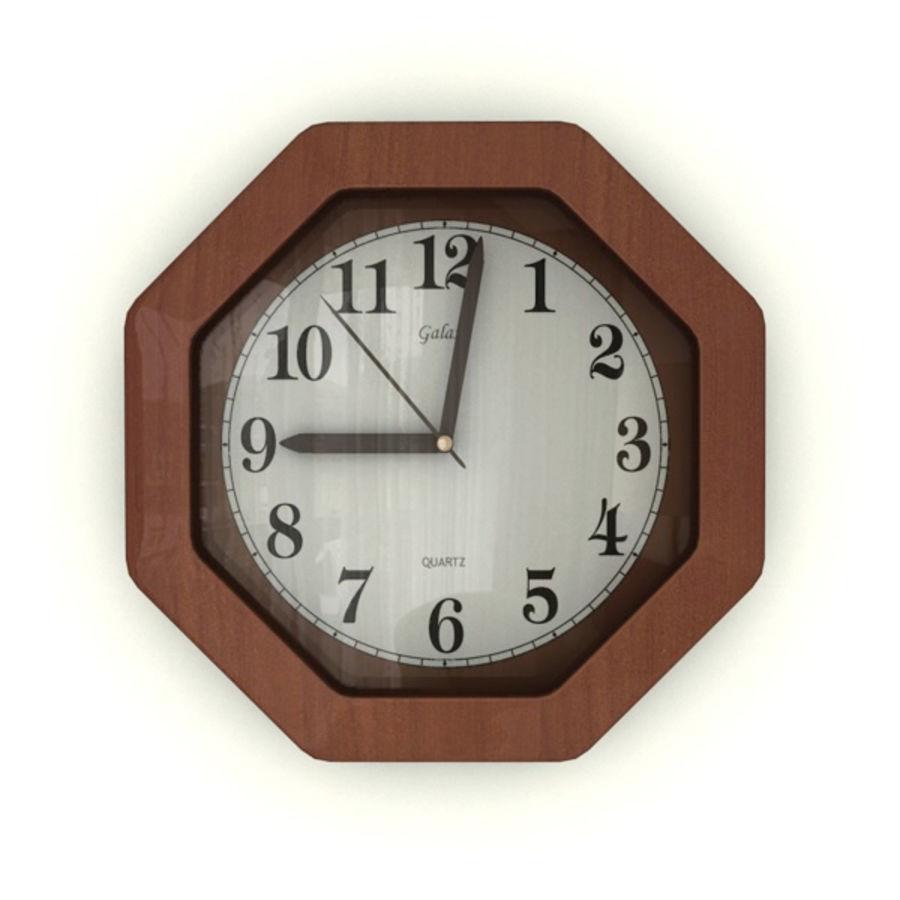Reloj de pared royalty-free modelo 3d - Preview no. 1