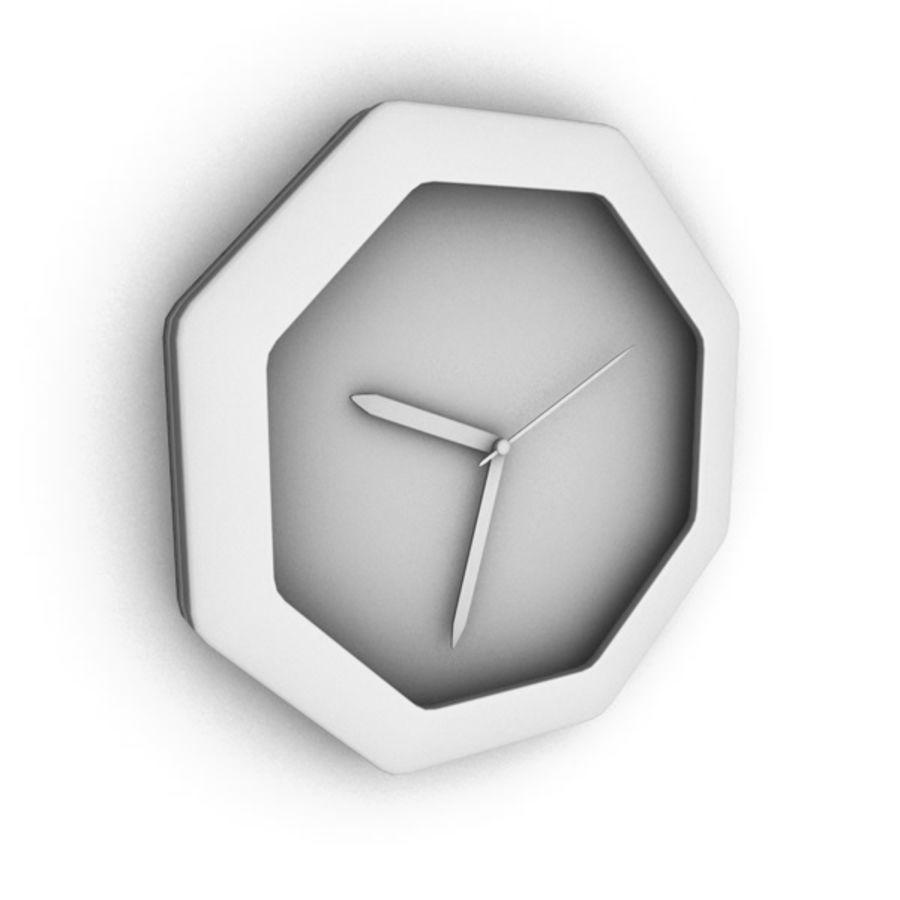 Reloj de pared royalty-free modelo 3d - Preview no. 4