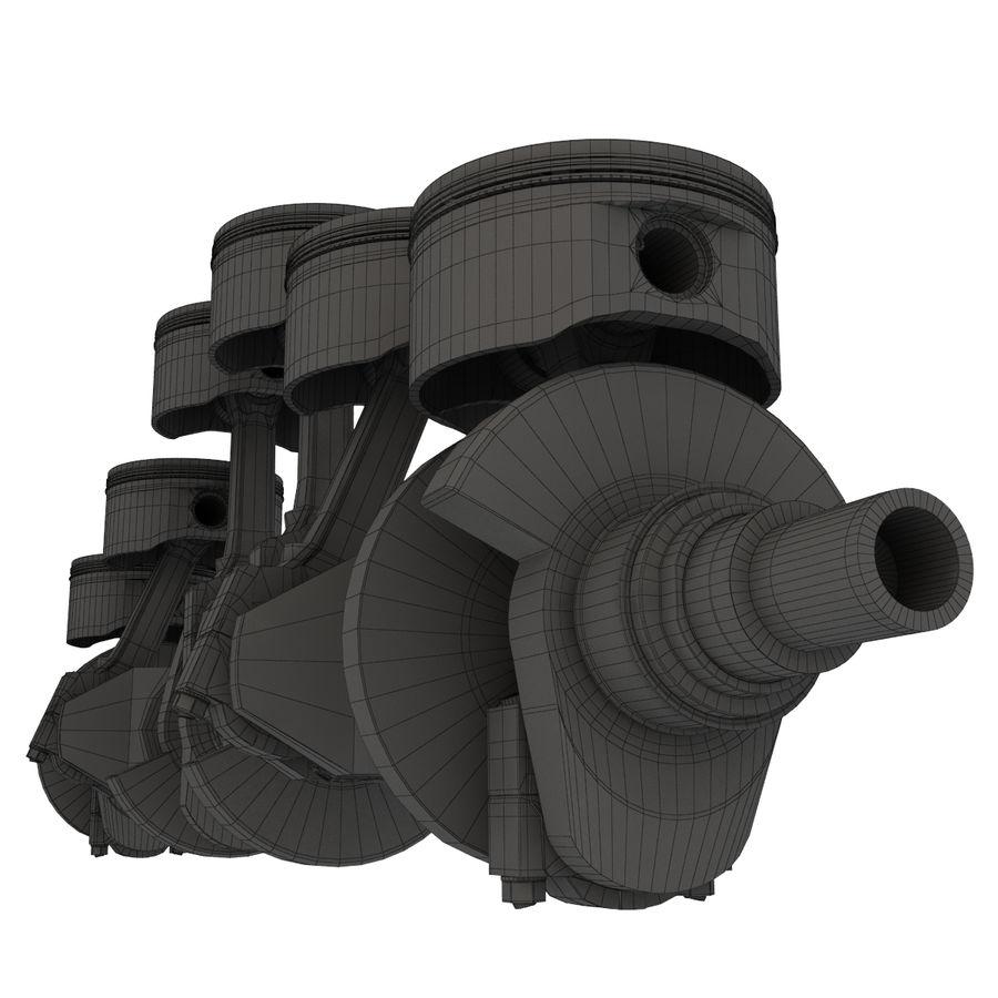 silnik royalty-free 3d model - Preview no. 11