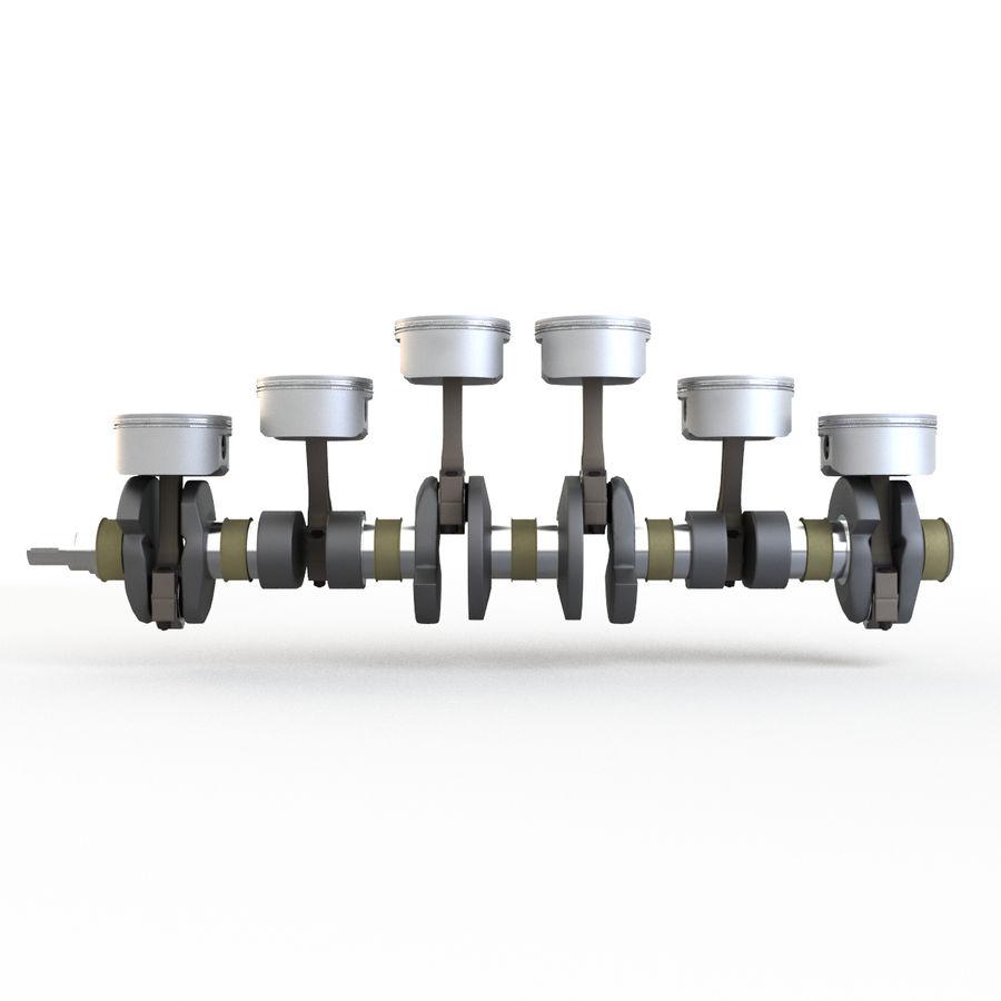 silnik royalty-free 3d model - Preview no. 4